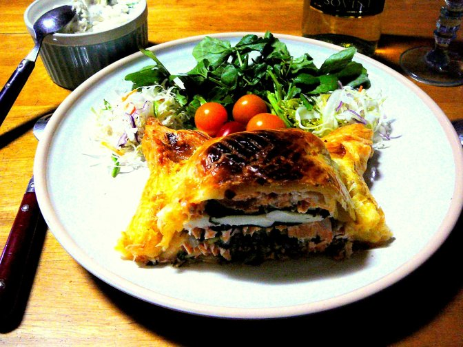 Salmon Trout Pie Recipe