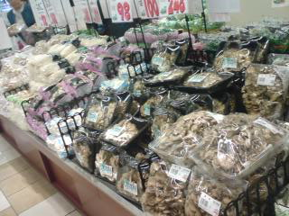 mushrooms-market