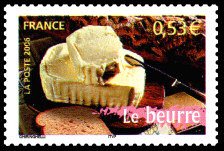TIMBRES-BEURRE