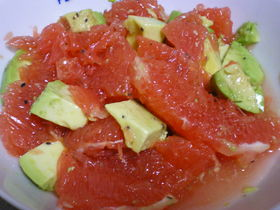 GRAPEFRUIT-AVOCADO-SALAD