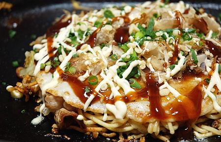 ... are two basic styles for Okonomiyaki: Hiroshima-style and Osaka-style