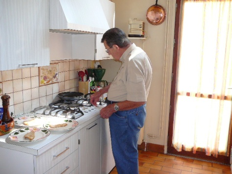 FATHER-COOKING