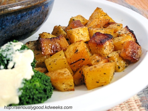 RUTABAGA-ROASTED