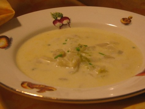 TOPINAMBOUR-VELOUTE