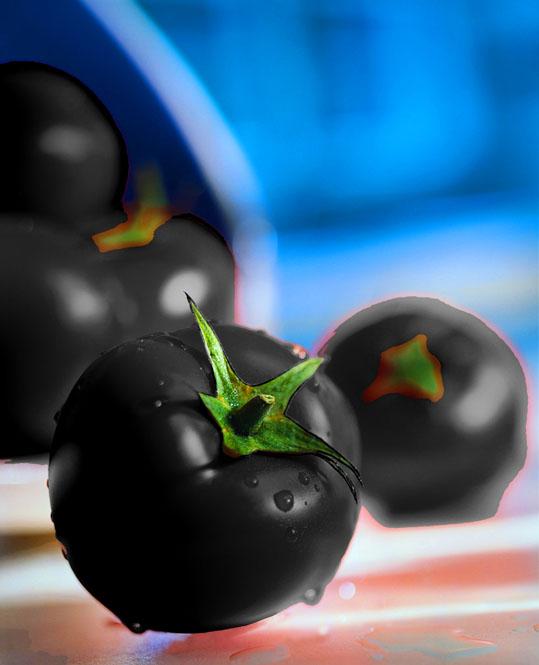 Black Galaxy Tomatoes ...