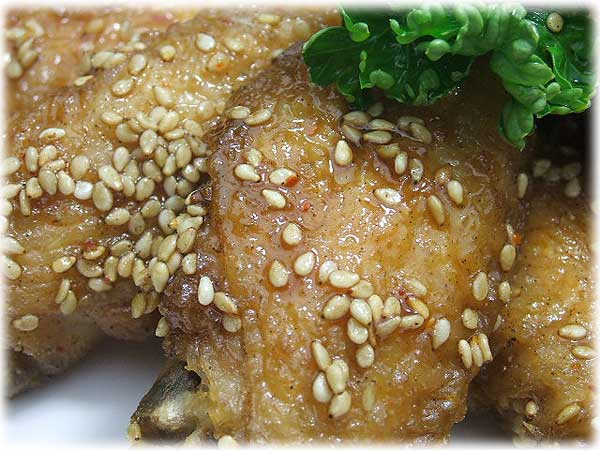 Japanese Cuisine: Tebasaki Karaage/Deep-fried Chicken Wings | SHIZUOKA ...