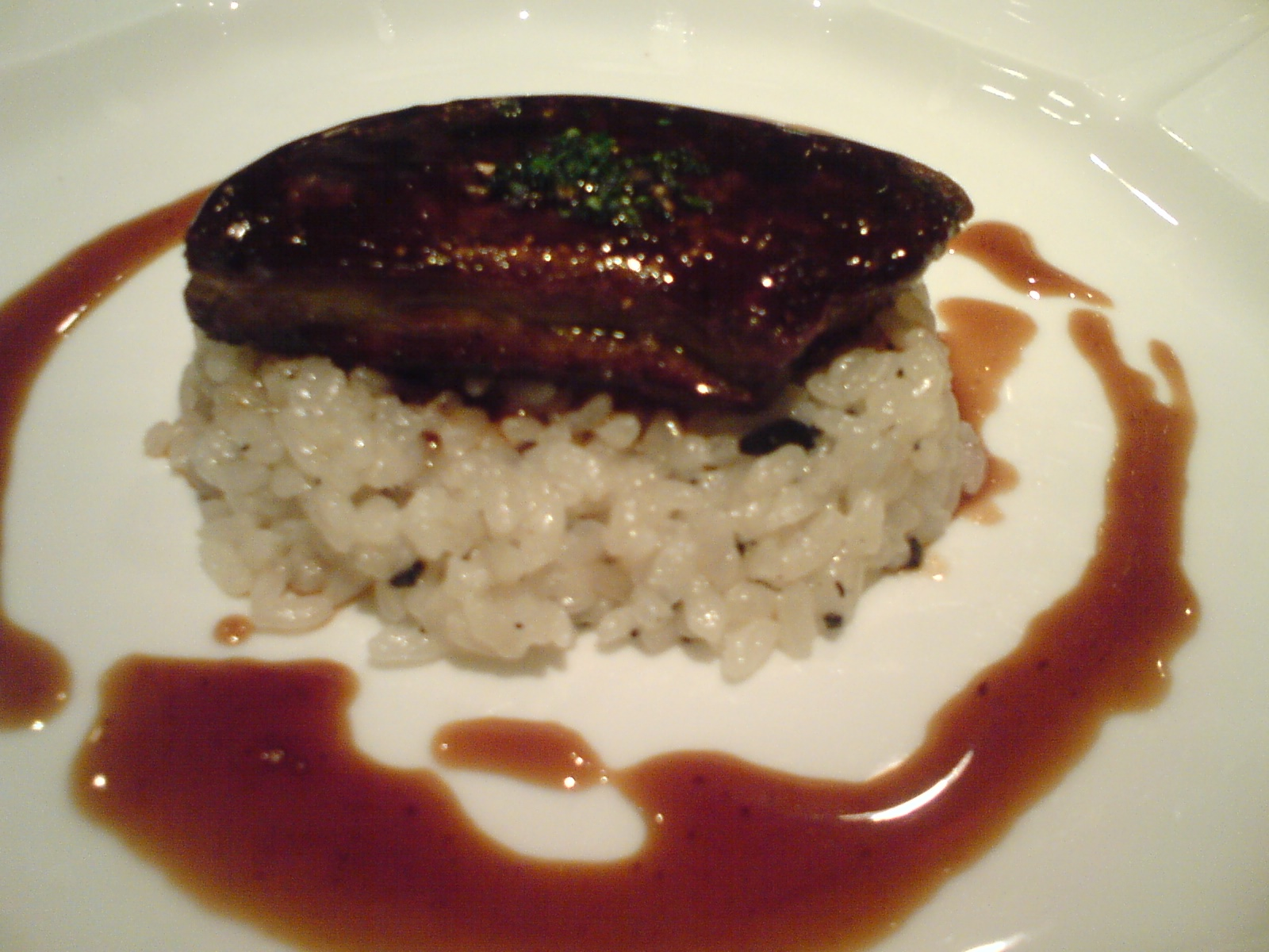 French Cuisine: Sauteed Landes Duck Foie Gras with Madeira Sauce on ...
