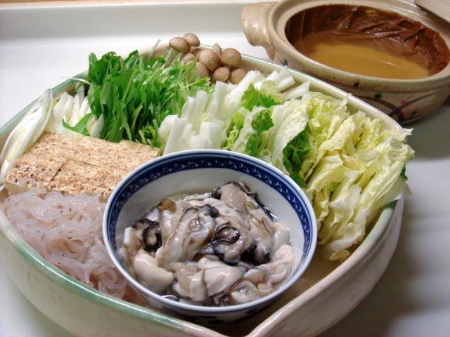 Japanese Cuisine Kaki Dotenabe Oysters Pot Au Feu Shizuoka Gourmet