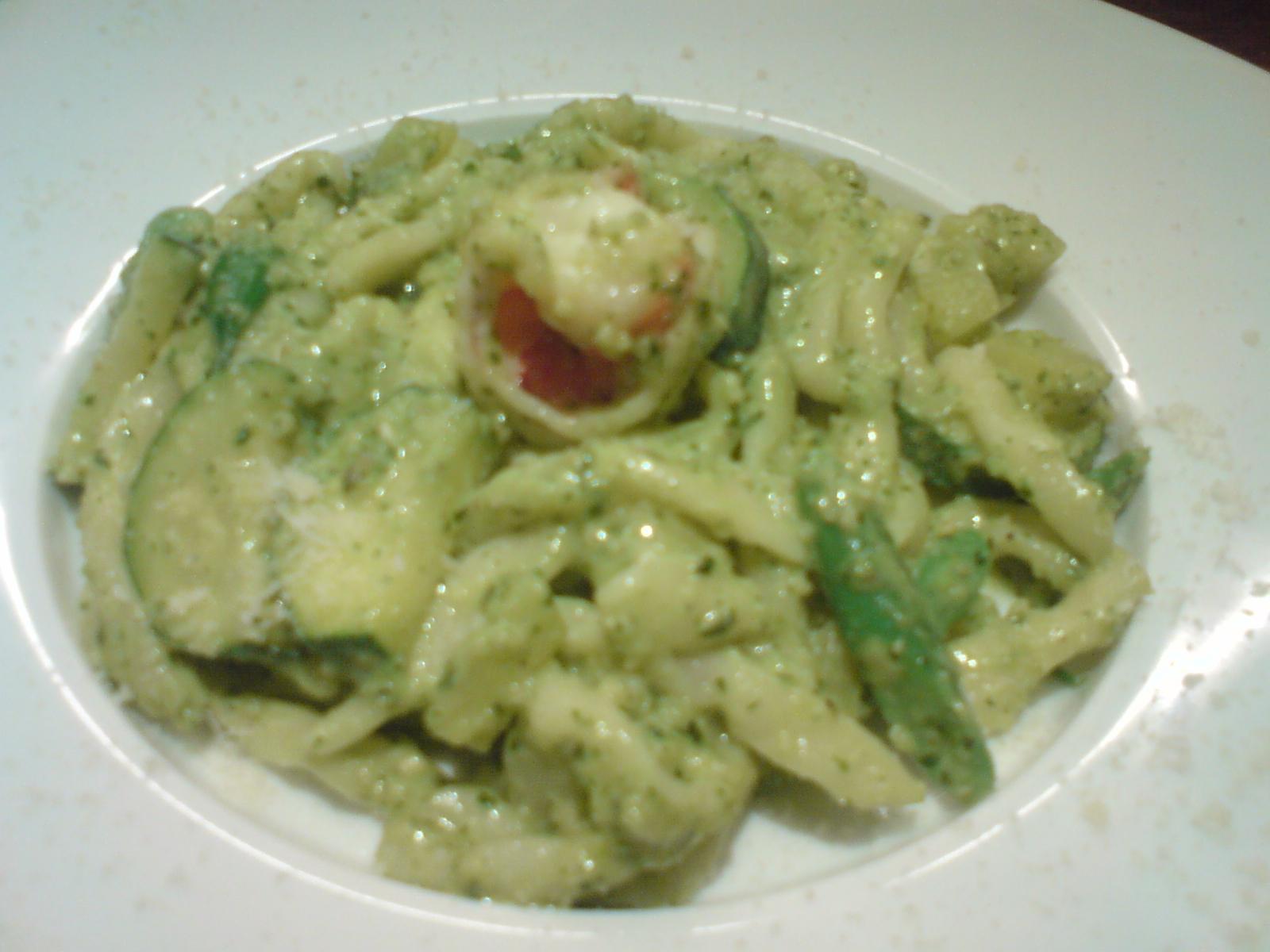 Italian cuisine genovese sauce trofie pasta shizuoka - Italian cuisine pasta ...