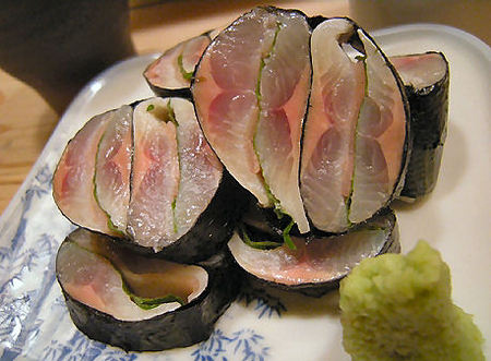 Beak fish sushi recipes