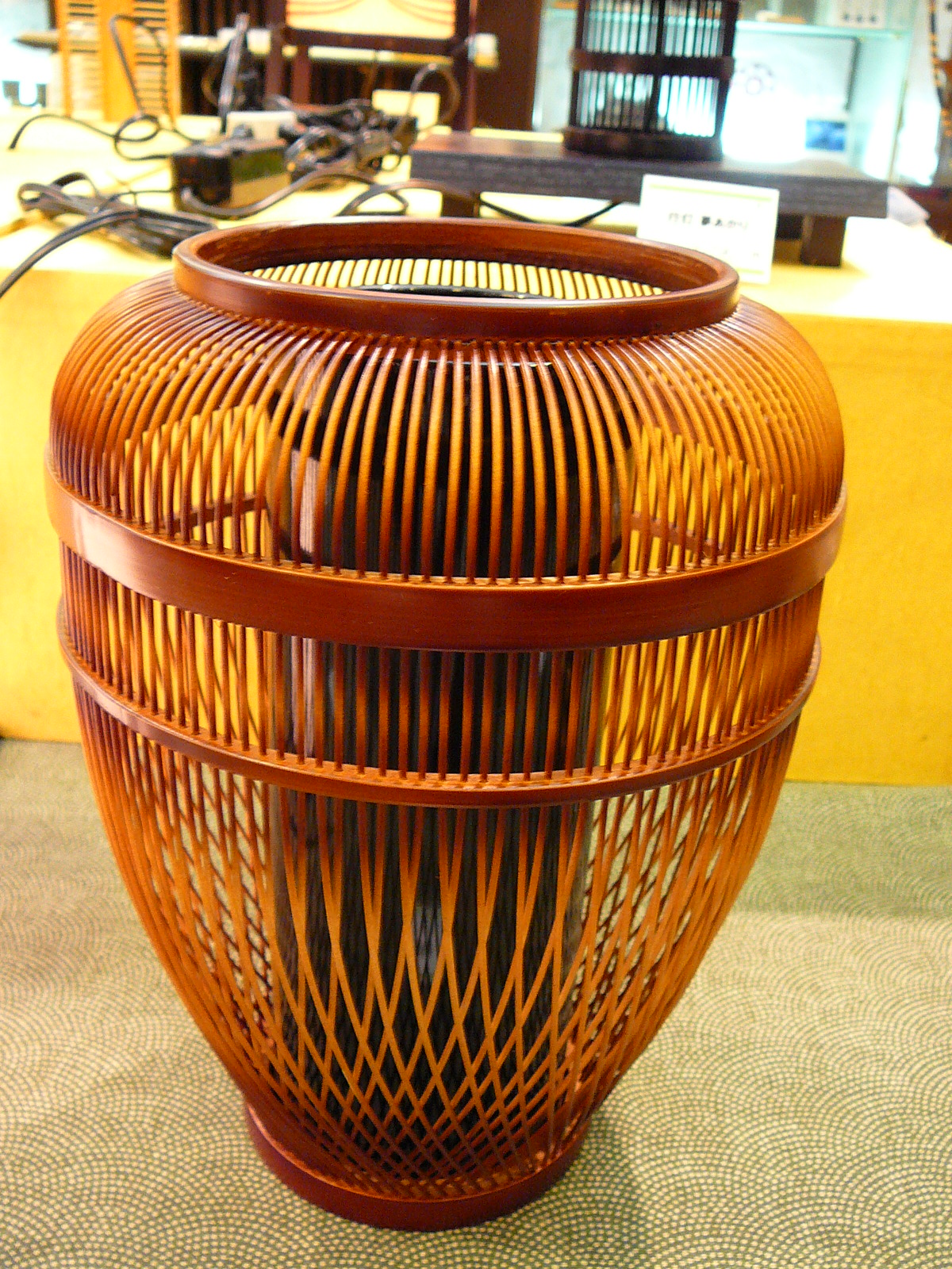 Japanese Bamboo Handcraft for your Dining-Room and Home ...