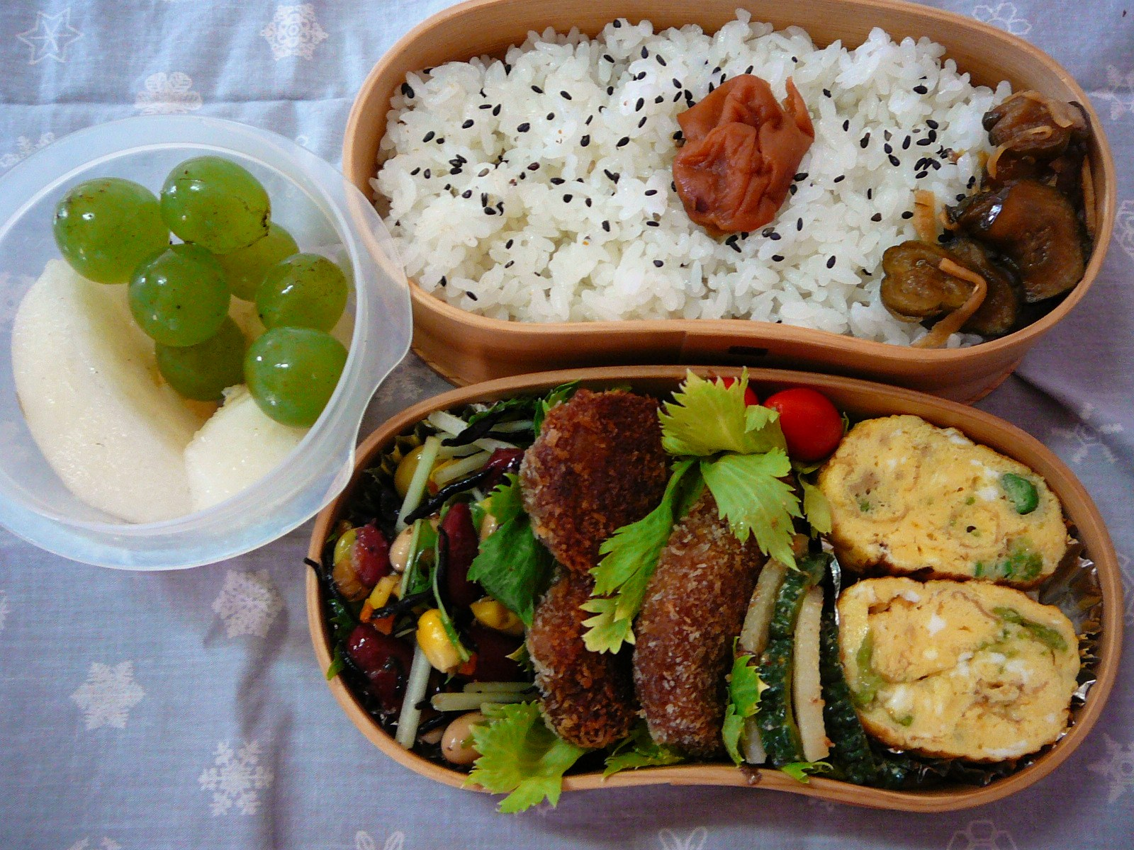 today s lunch box bento 10 66 back to work bento shizuoka gourmet. Black Bedroom Furniture Sets. Home Design Ideas