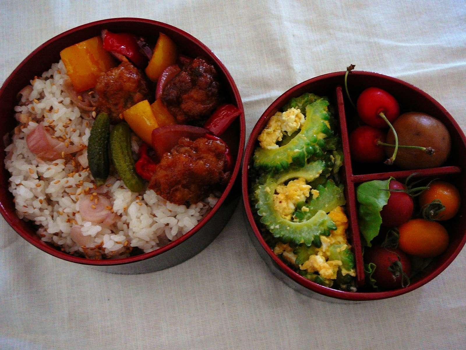 Traditional Japanese Bento Box