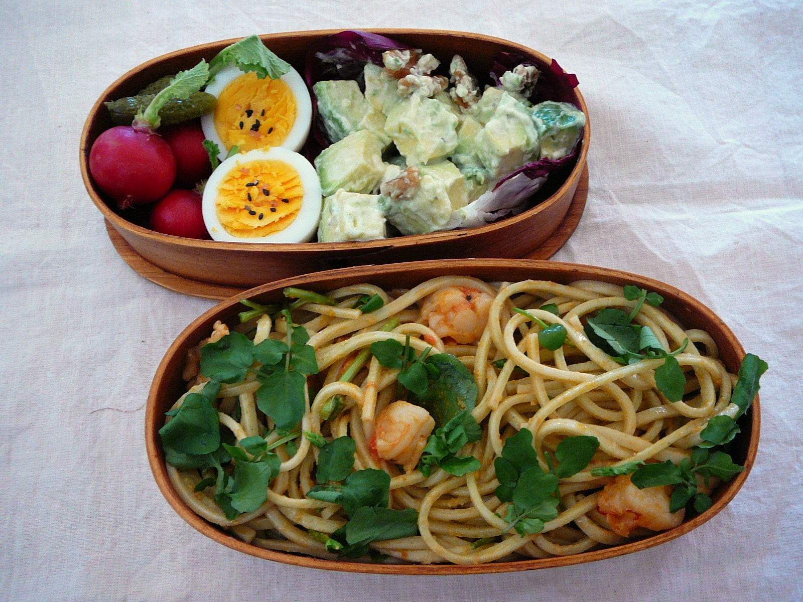 today s bento lunch box 11 57 cress udon bento shizuoka gourmet. Black Bedroom Furniture Sets. Home Design Ideas