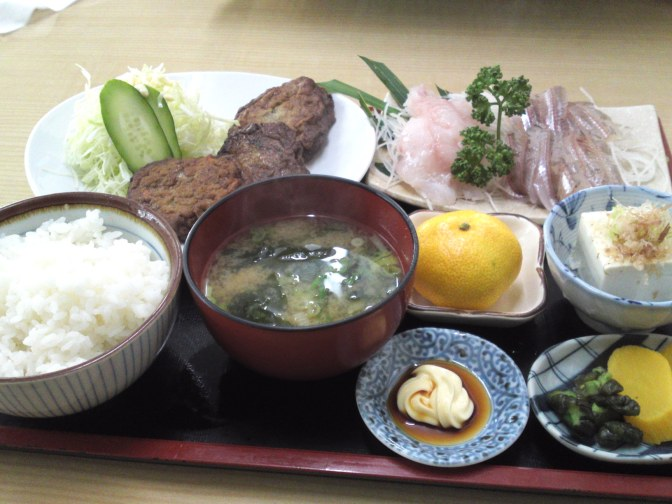 Deep-sea Fish Restaurant: Uoshige in Heda, Izu Peninsula!