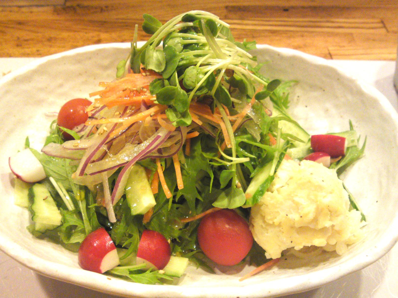 Vegetables gastronomy at yasaitei in shizuoka city (november 2011 ...