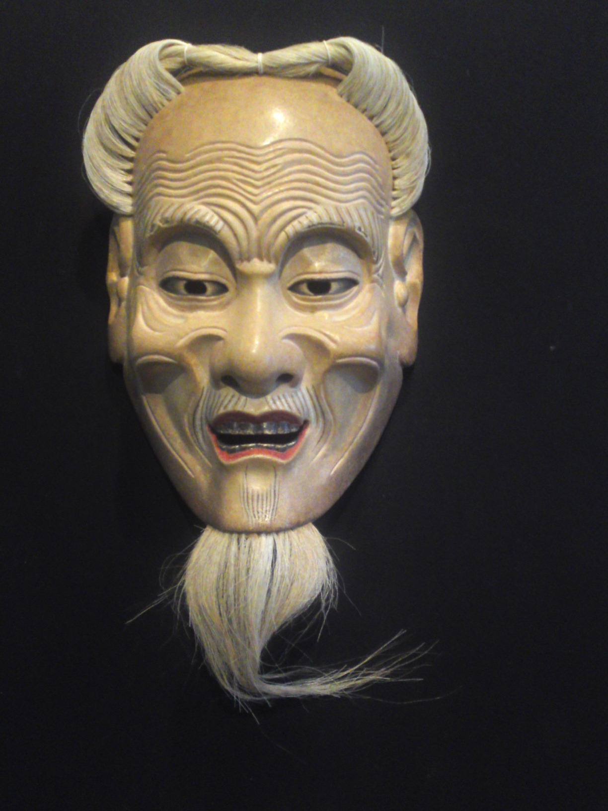 Noh masks exhibition by roger voltz at chubu denryoku for The mask photos gallery