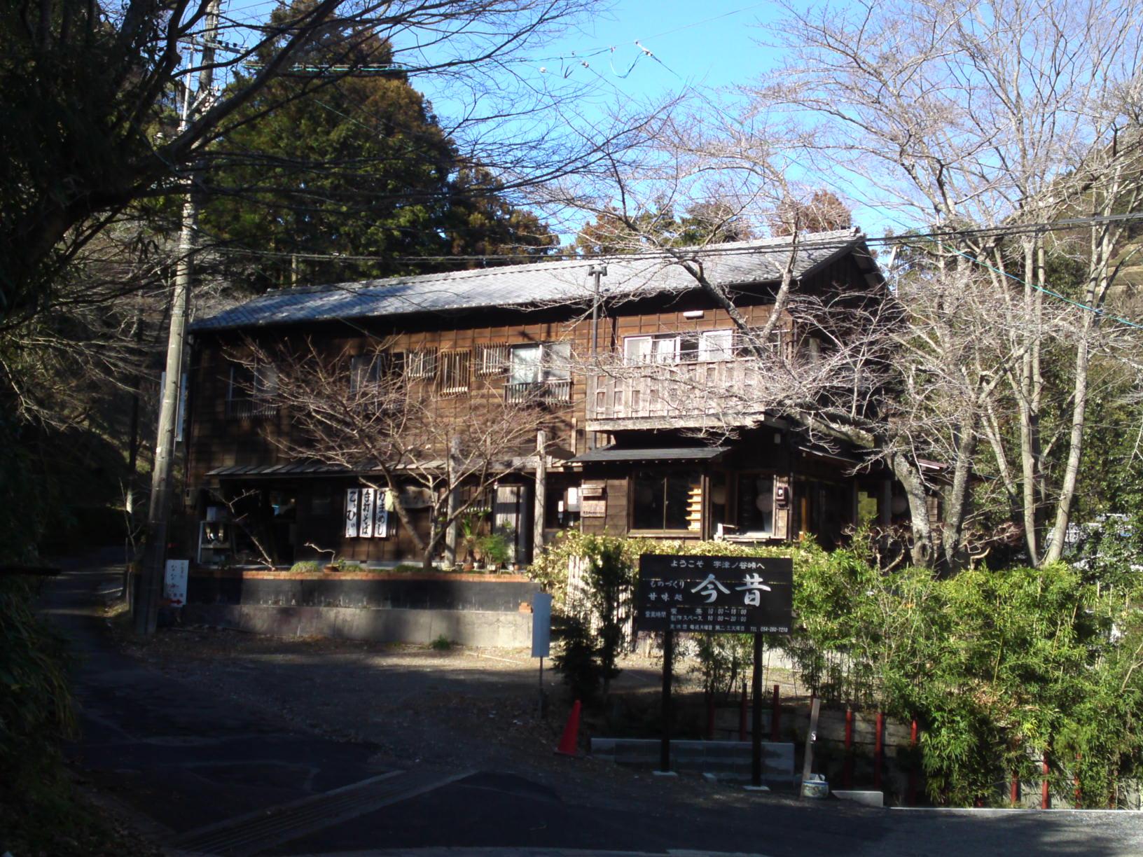 Visite du village de utsunoya shizuoka au japon avec de belles maisons en bois