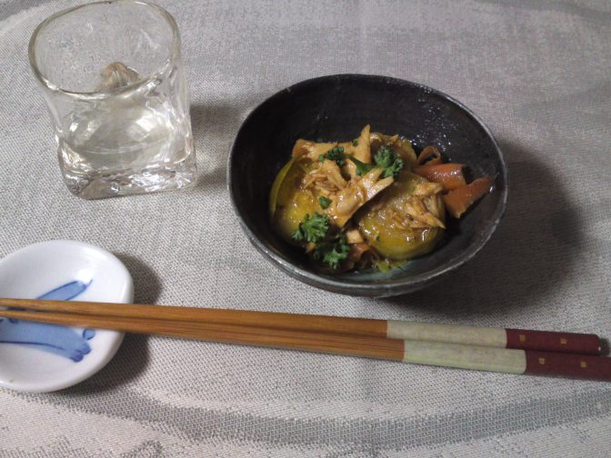 Japanese Appetizer (O-toushi/お通し): Brussels Sprouts