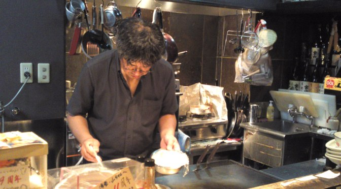 Okonomiyaki & Teppanyaki Izakaya: Quick Dinner at You-To In Shizuoka City