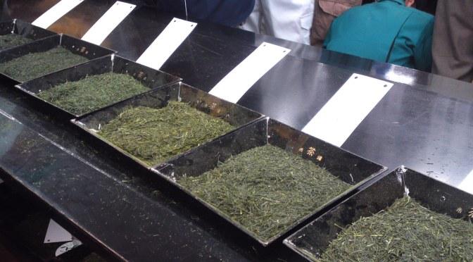 GREEN TEA: SHIZUOKA PREFECTURE TEA FIRST AUCTIONS IN 2014 IN SHIZUOKA CITY!