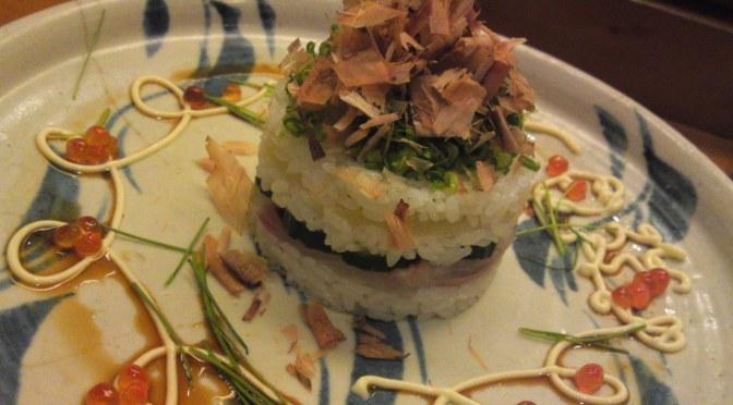 Sushi: Dinner at Sushi Ko in Shizuoka City (May 8th 2014)!