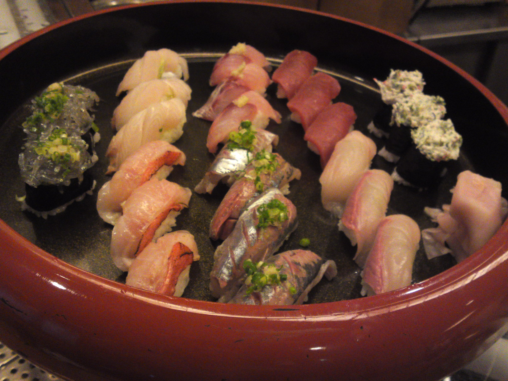 sushi dinner at sushi ko in shizuoka city may 8th 2014
