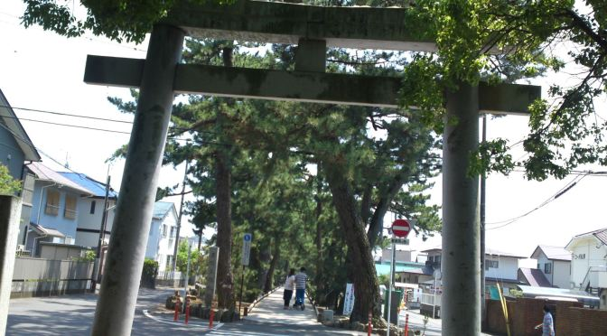 The Legend of Hagoromo in Miho Beach Pine Forest, Shimizu Ku, Shziuoka City!