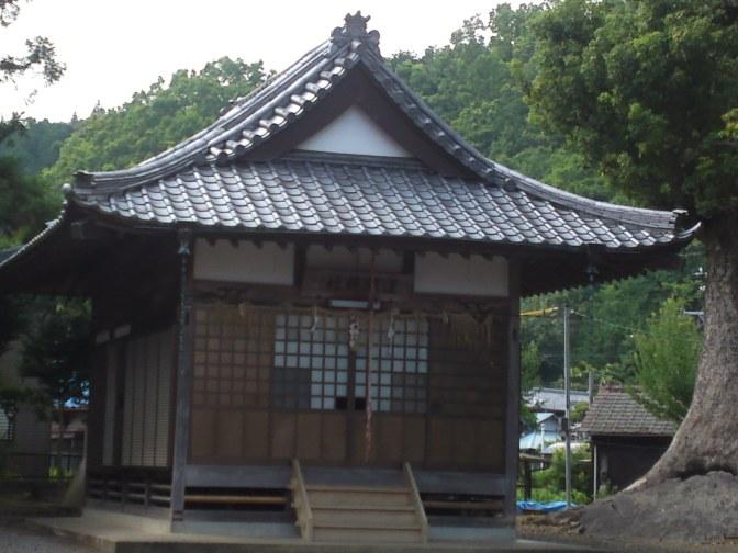 Sengen Shrine in Hattori Honcho, Aoi Ku, Shizuoka City