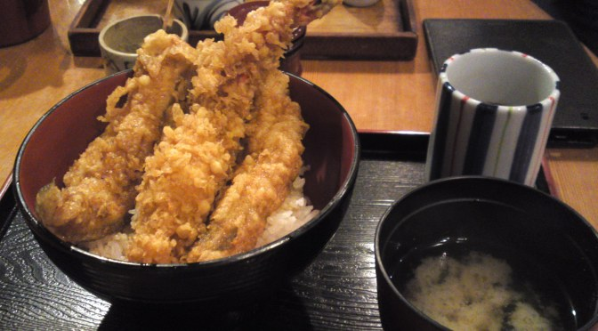 Tempura Restaurant: Lunch at Tenshuu (天周) in Kyoto!
