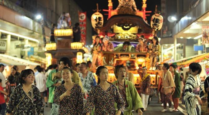 Yoshiwara Gion Matsuri – Fuji City