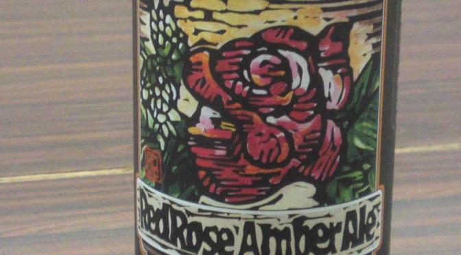 Shizuoka Beer tasting: Baird Beer-Red Rose Amber Ale