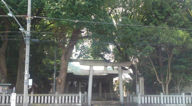 Ikama Shrine (伊河麻神社) in Shizuoka City