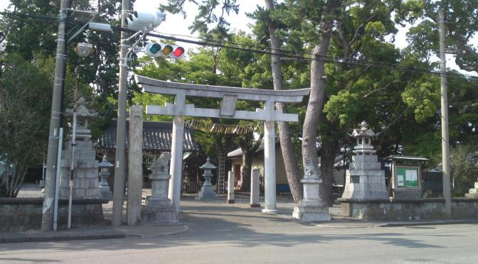 Kataoka Sumiyoshi Shrine (片岡住吉神社) in Yoshida Cho!