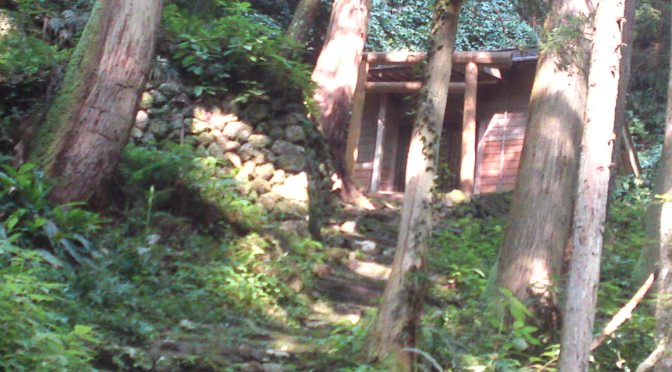 Fudo No Taki Shrine (不動の滝神社) in Shizuoka City with Waterfalls and Wild Bears!