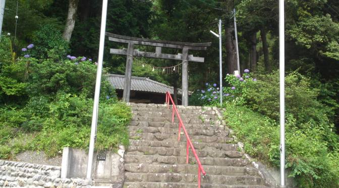 Takyou Shrine (建穂神社)in Takyou, Aoi Ku, Shizuoka City!