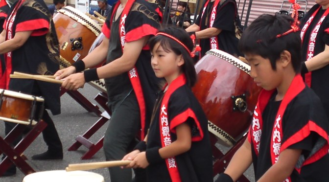 Drummers at Shimizu Harbor Festival!