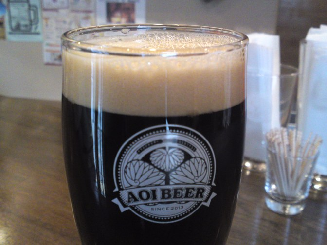 Shizuoka Beer Tasting: Aoi Brewing-Litbitter Stout