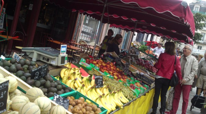 Gastronomic Destinations: France-Bretagne (2): Saturday Market in Rennes
