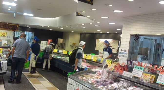 Local Shizuoka Fish & Seafood at Parche Fish Market in Shizuoka City: including  Shirasu/Sardine Whiting!