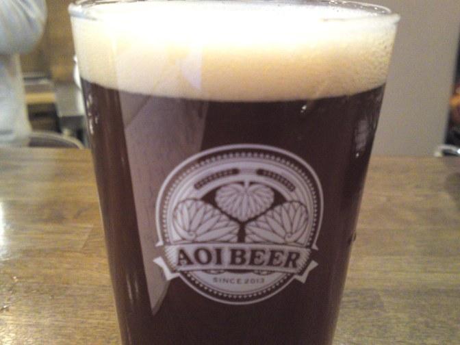 Shizuoka Beer tasting: Aoi Brewing- Hollyhock Xmas Ale!