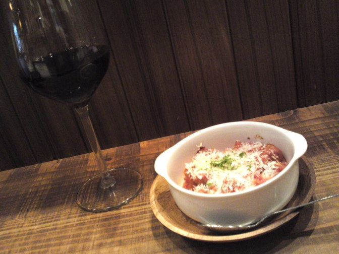 Cassoulet & Red Bordeaux Wine Wine at La Sommeliere in Shizuoka City!