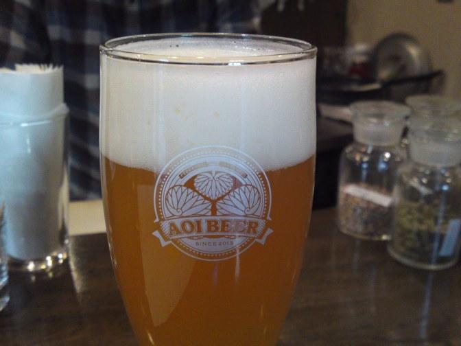 Shizuoka Beer Tasting: Aoi Brewing- Weizen