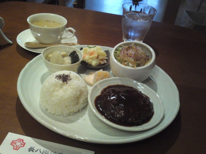 Healthy Lunch at Cyohachi Coffee in Shizuoka City!