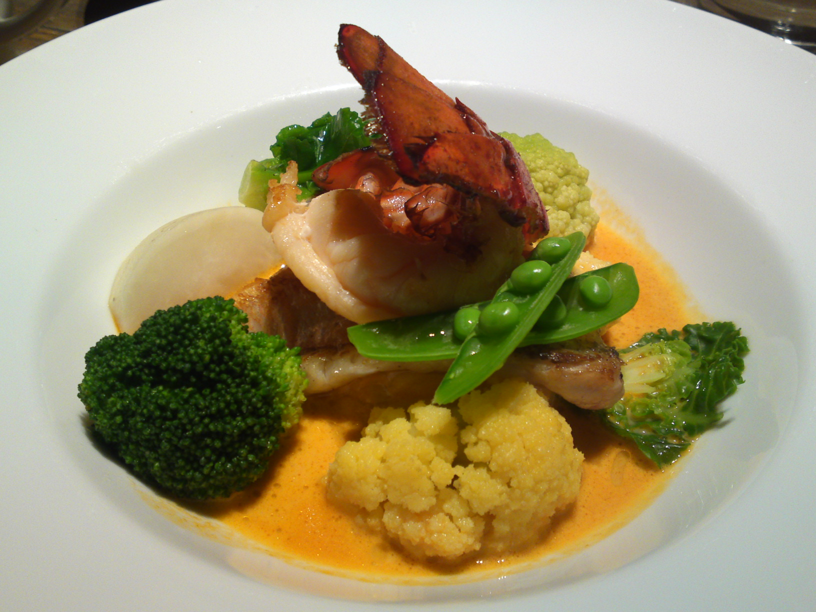 "American Gastronomy: ""Lobster & Tile Fish Nage"" at BLUE BOOKS CAFE in Shizuoka City! | SHIZUOKA ..."