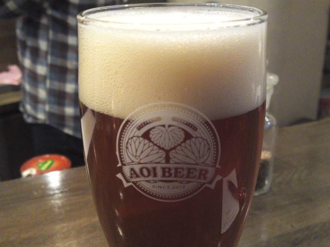 Shizuoka Beer Tasting: Aoi Brewing-Yakima Valley Pale Ale