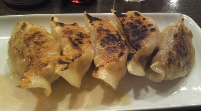Chinese Gastronomy: Lamb Gyoza (dumplings) at AOI BEER STAND, Shizuoka City!