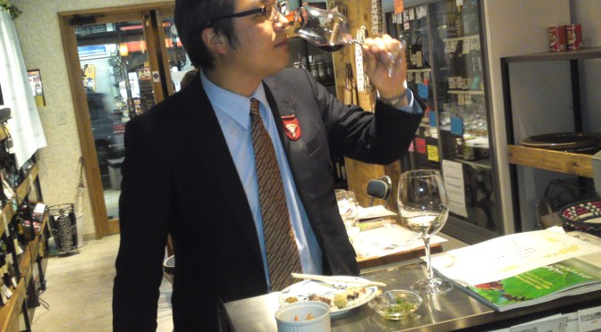 GRACE WINE Co. (Yamanashi Prefecture) Wine Tasting Party at La Sommeliere in Shizuoka City!