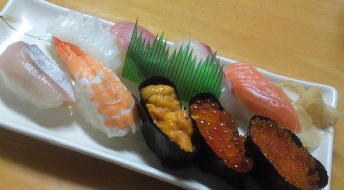 Gastronomic Destination : Fukuoka (3): Sushi at Yoshida Fishmonger in Fukuoka City!