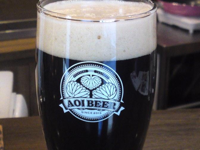 Tochigi Beer Tasting: Ushitora Brewery-Hey! Nenooki Koohii/Wake-up Coffee